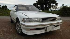 Toyota Mark Ⅱ GX-81 document equipped