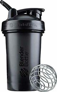 ブラック ブレンダーボトル 【日本正規品】 BlenderBottle Classic V2 20オンス (600ml) ブラッ