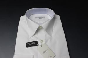¥8690/新品ダーバン/D'URBAN 形態安定 定番レギュラーカラー/長袖ドレスシャツ 38-82 白無地/3700021103(2G384