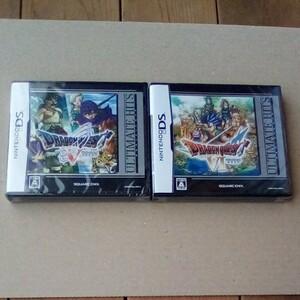 【新品】ドラゴンクエスト 5 + 6 天空の花嫁 幻の大地 DSソフト