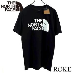 【セーム革付き送料無料】新品 THE NORTH FACE ザ ノースフェイス Tシャツ S 半袖 ロゴ ハーフドーム HALFDOME クルーネック NF0A4QQ7 JK3