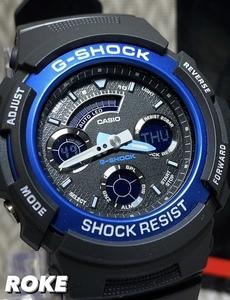 新品 G-SHOCK Gショック ジーショック カシオ CASIO 正規品 腕時計 アナデジ腕時計多機能 ベーシック【セーム革付き送料無料】