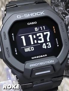 新品 G-SHOCK G-SQUAD カシオ Gショック ジースクワッド CASIO 正規品 腕時計 GBD-200-1 スマートフォンリンク スポーツライン