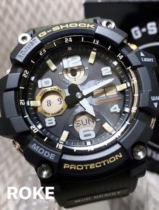 【セーム革付き送料無料】新品 MUDMASTERマッドマスターG-SHOCK Gショックカシオ CASIO 正規品 タフソーラー腕時計アナデジ ソーラー腕時計
