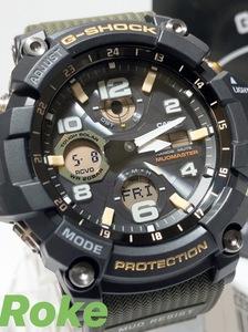 電波ソーラー腕時計 新品 MUDMASTER(マッドマスター)G-SHOCK Gショック ジーショック カシオ CASIO 正規品 腕時計 アナデジ 電波時計