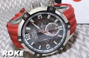 NEWモデル 新品 テクノス TECHNOS 正規品 腕時計 クロノグラフ スポーツ ラバーベルト 国内正規保証【セーム革付き送料無料】
