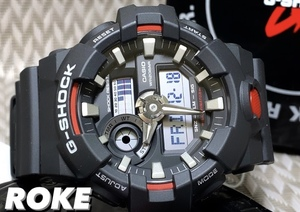 新品 G-SHOCK Gショック ジーショック カシオ CASIO 正規品 腕時計 アナデジ腕時計 多機能腕時計 ウォッチ ビックフェイス 黒 メンズ