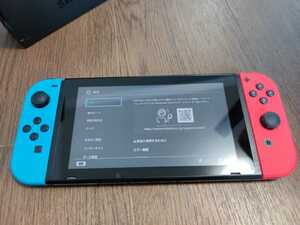 Nintendo Switch ニンテンドースイッチ本体 Joy-Con(L) ネオンブルー/(R) ネオンレッド