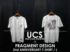 UCS × FRAGMENT DESIGN 2周年記念 胸ポケTシャツ L 宇野薫 宇野商店 フラグメントデザイン UNO CAOL SHOWTEN #1