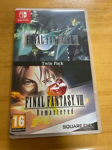 【Switch】 Final Fantasy VII & VIII Remastered Twin Pack [輸入版]