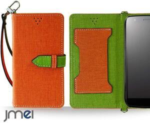 Galaxy A20 SC-02M SCV46 docomo au ケース スマートフォン 新品 手帳型スマホケース ポーチ カバー レザー 携帯 人気 オレンジ