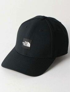 ノースフェイス キャップ スクエアロゴ NN41911 BLACK 黒