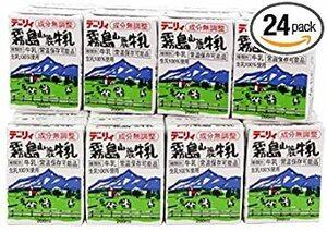 お一人様2ケースまで 常温保存 南日本酪農協同(株) デーリィ 霧島山麓牛乳 200ml紙パック*24本セット