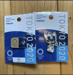 公式 東京2020 オリンピック ミライトワ ゴルフ ピンバッジ バッチ