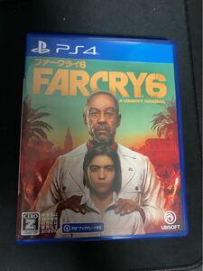 PS4ソフト FARCRY6 ファークライ6 プロダクトコード未使用