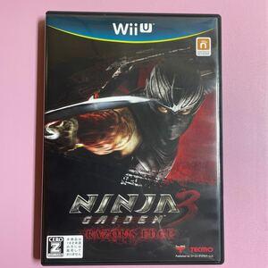 【Wii U】 NINJA GAIDEN 3: Razor's Edge