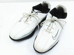 ■ NIKE ナイキ ゴルフ ズーム ゴルフシューズ 483844-100 ホワイト×ブラック 26cm