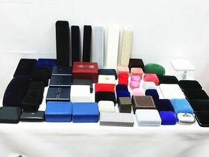 ■ まとめて 大量 アクセサリーケース ジュエリーボックス 宝石箱 収納箱 空き箱 アクセサリー リング ネックレス 空箱 まとめ売り 現状品