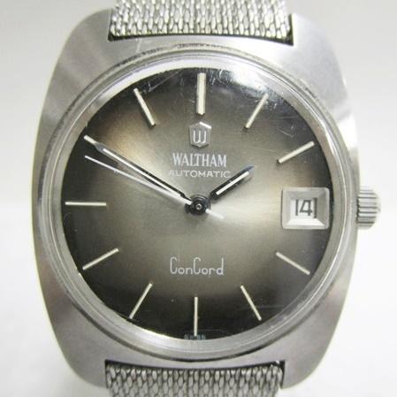 13 34-438225-12 [Y]【A】Waltham ウォルサム コンコルド 6N 1664 自動巻 腕時計 メンズ ファッション 小物 大34