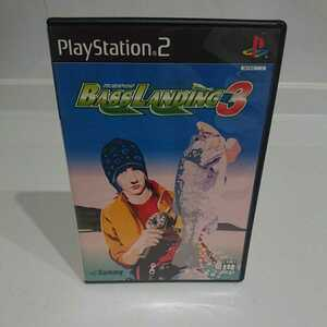 PS2 ソフト レア バスランディング3 釣り 動作確認済 送料無料!