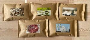 世界5大精製飲み比べセット 自家焙煎コーヒー豆5種(100g×5個)