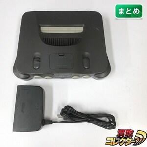 gE244b [動作未確認] N64 ニンテンドウ64 本体 メモリー拡張パック付 + ACアダプタ | ゲーム X