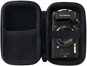 storage case-Black OLYMPUS(オリンパス) Tough TG-6/TG-5/TG-4 デジタルカメラ専用