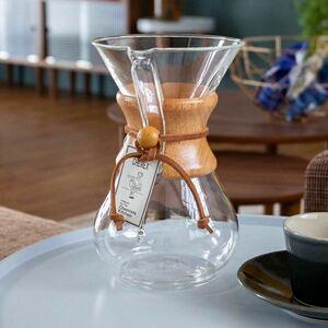 コーヒーメーカー ケメックス 6カップ ガラス 木製