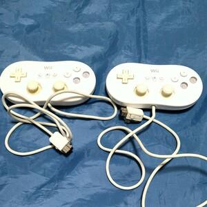 Wii クラシックコントローラー2個