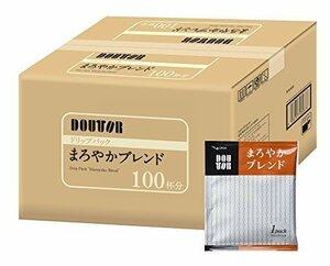 新品100PX1箱 ドトールコーヒー ドリップパック まろやかブレンド100PN7750FF5EYQ3