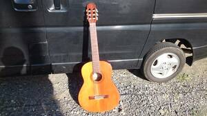 ジャパンヴィンテージ エリートG-90 クラシックギター エレアコ改造 ピエゾ&マイク5chプリアンプ 格安、訳あり品