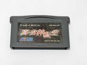 ★希少 GBA 真・女神転生      カセットのみ ゲームボーイアドバンス作動確認済み