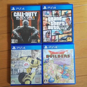 PS4 ソフト4本セット