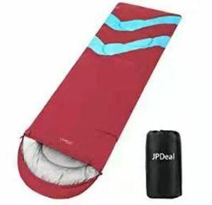 寝袋 封筒型 軽量 保温 210T防水 シュラフ コンパクト アウトドア