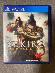 【海外版】PS4 SEKIRO セキロ ゲームソフト