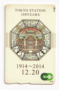 JR東日本 現在でも使用可! 東京駅100周年記念 記念Suicaデポジットのみ台紙なし