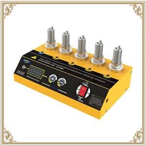 <送料無料>スパークプラグテスター 5穴 点火測定ツール 車用12V 点火プラグテスター 調節可能 イグニッション診断ツール