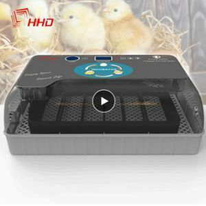 新品 グースチキンウズラ用エッグインキュベーター ひよこ孵化場マシン 自動ブローダーファーム Mp3746:HHDベFD34