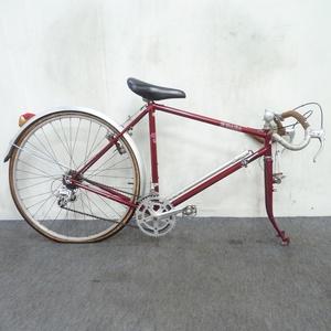 ランドナー ブリヂストン ユーラシア フレーム売り クロモリフレーム 2×5 26インチ ビンテージ ARAYA ツーリング ロードバイク ●