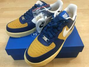 SNKRS購入 NIKE AIR FORCE1 × UNDEAFEATED US8.5 26.5cm ナイキ アンディフィーテッド エア フォース 1 LOW 新品未使用 JORDAN sacai dunk