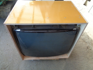 valuable nanao29 -inch MS9-29 Brown tube monitor BOX USED reproduction goods somewhat burning . is seen once junk treatment .!