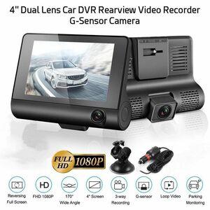 ドライブレコーダー 前後カメラ 最新版 車載カメラ 4.0インチ 1080P 170°広視野角 WDR搭載 駐車監視 常時録画 AYK45