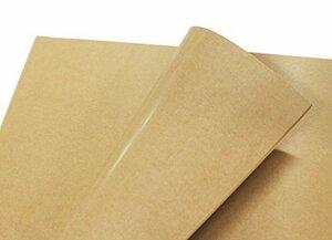 新品フジパック クラフト紙 片面ツヤ加工 ラッピング 包装紙 100枚WVVF