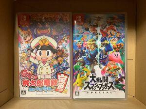 Nitendo Switch 桃太郎電鉄 昭和 平成 令和も定番!+大乱闘スマッシュブラザーズ SPECIAL