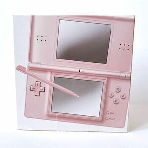 【即決】任天堂 Nintendo DS lite ニンテントーDS LITE ニンテンドーDS メタリックロゼ 新品 未開封 本体 ケース フィルム おまけ付き