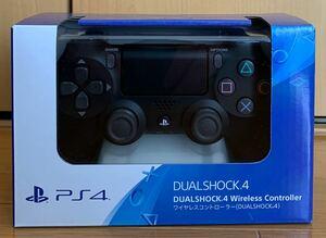 ★☆新品未開封★☆ PS4 ワイヤレスコントローラー(DUALSHOCK 4) ジェット・ブラック(CUH-ZCT2J)