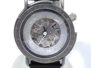 DEDEGUMO デデグモ 黄銅斗景 WMS33HA-SV03 自動巻き腕時計 店舗受取可