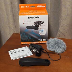 TASCAM デジタル一眼レフ用X-Y高音質ステレオマイク TM-2X