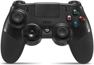 PS4 コントローラー PS4/PS4 Pro/Slim対応 イヤホンジャック 無線 Bluetooth接続