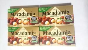 ロッテ マカダミアチョコレート 4箱
